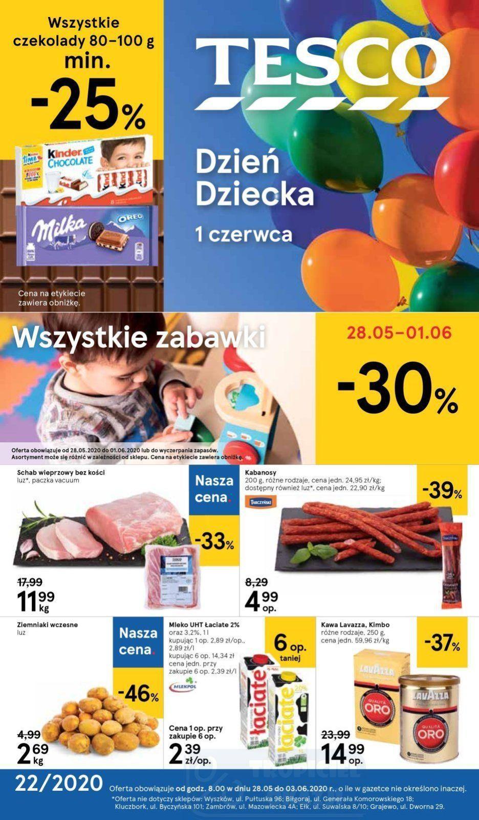 Gazetka promocyjna Tesco do 03/06/2020 str.1