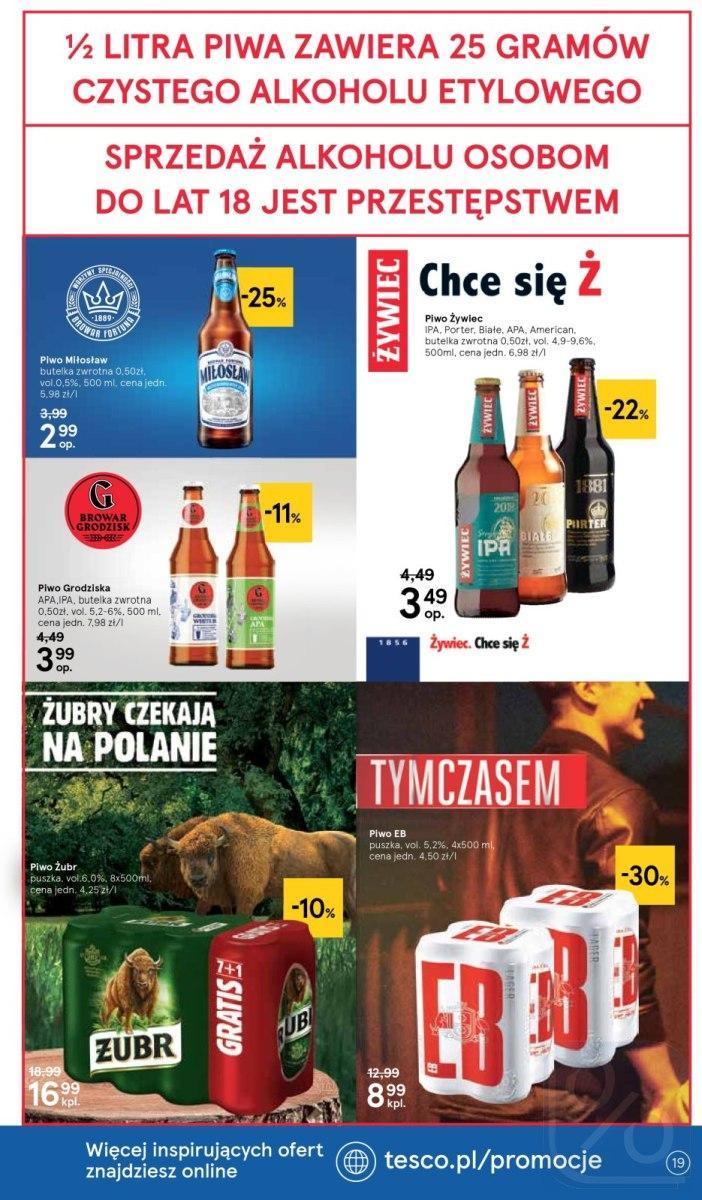 Gazetka promocyjna Tesco do 17/10/2018 str.19