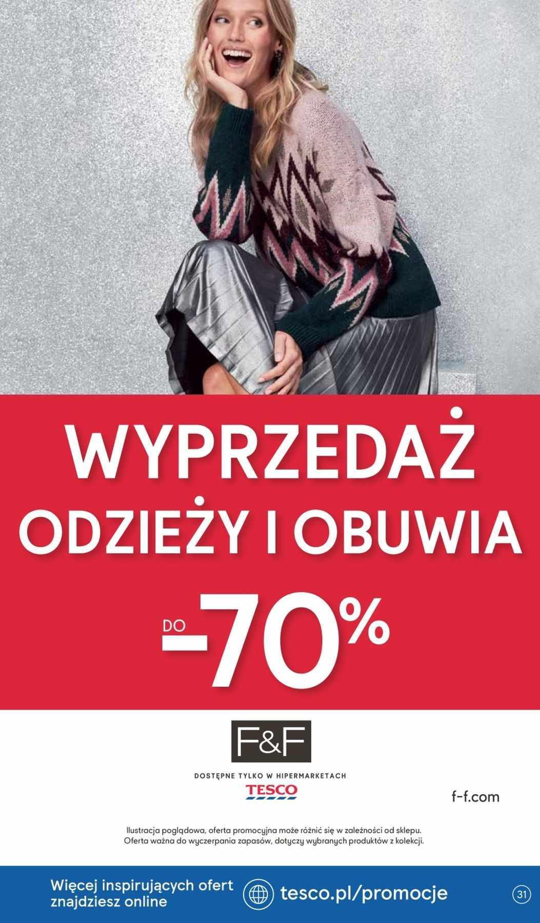 Gazetka promocyjna Tesco do 09/01/2019 str.30