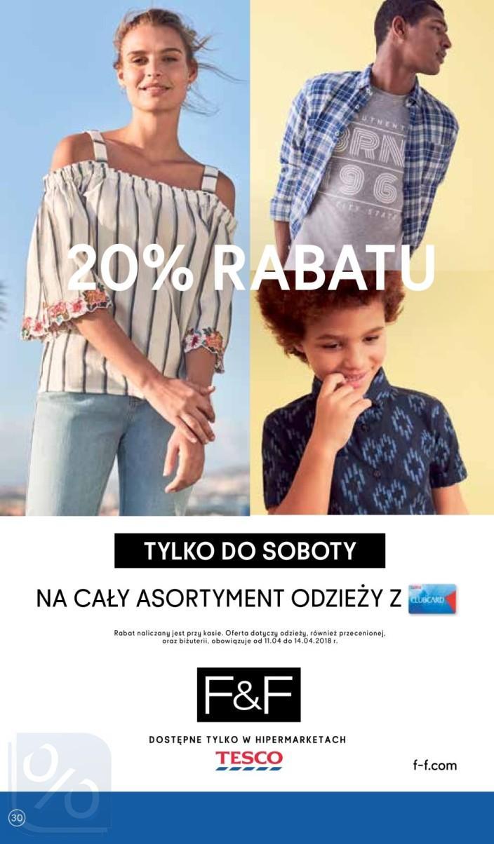 Gazetka promocyjna Tesco do 18/04/2018 str.29