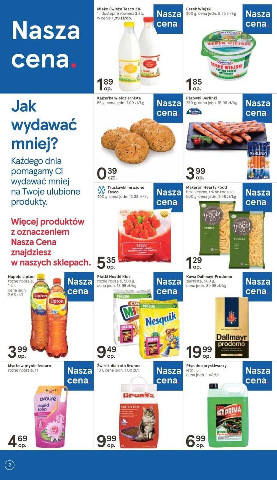 Gazetka promocyjna Tesco do 22/05/2019 str.2