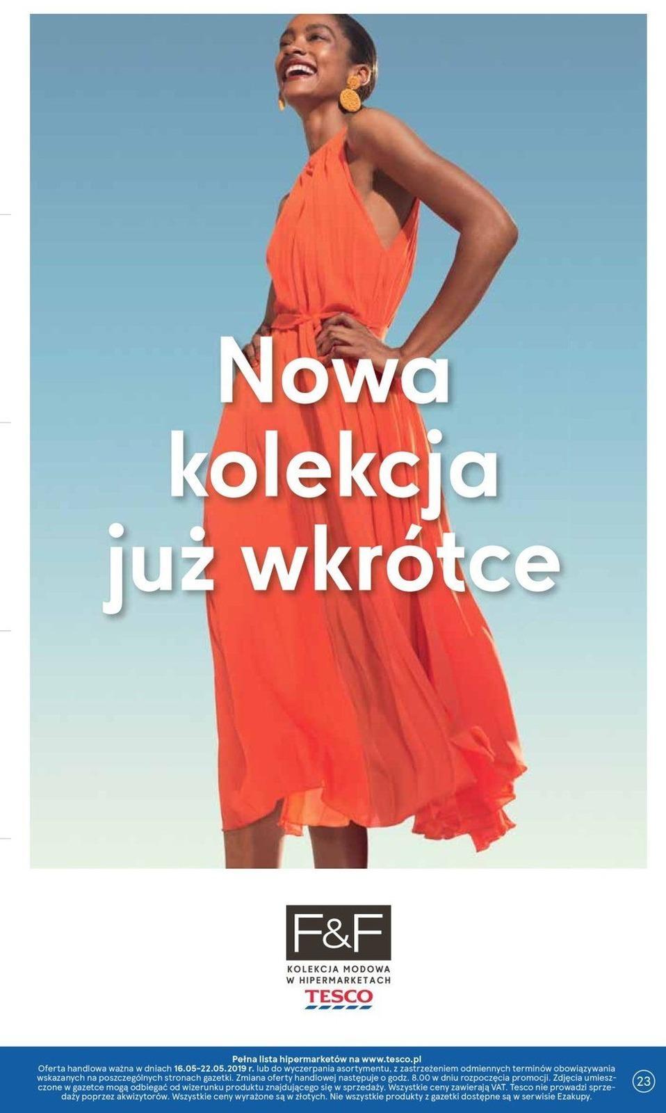Gazetka promocyjna Tesco do 22/05/2019 str.22