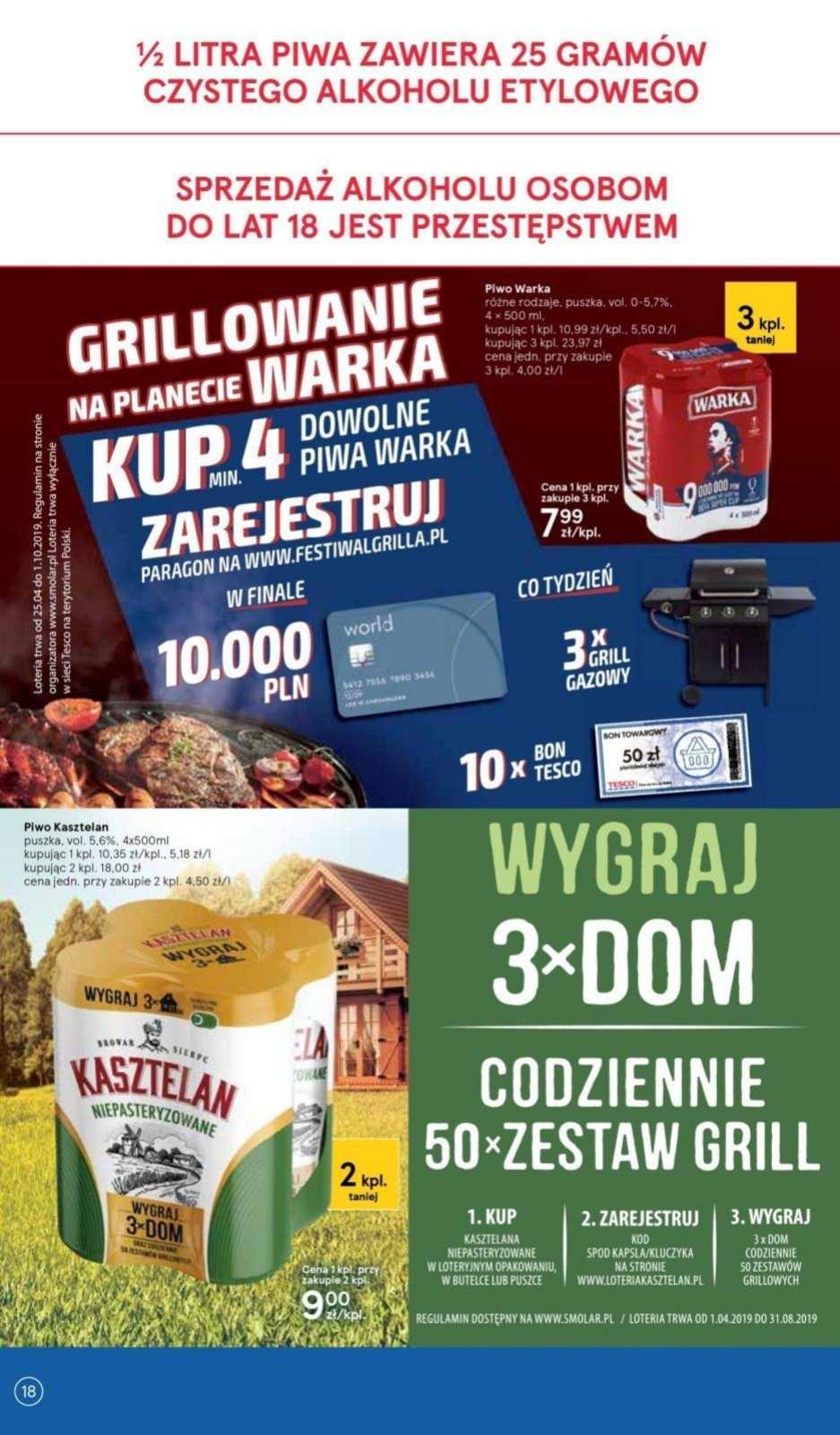 Gazetka promocyjna Tesco do 12/06/2019 str.17
