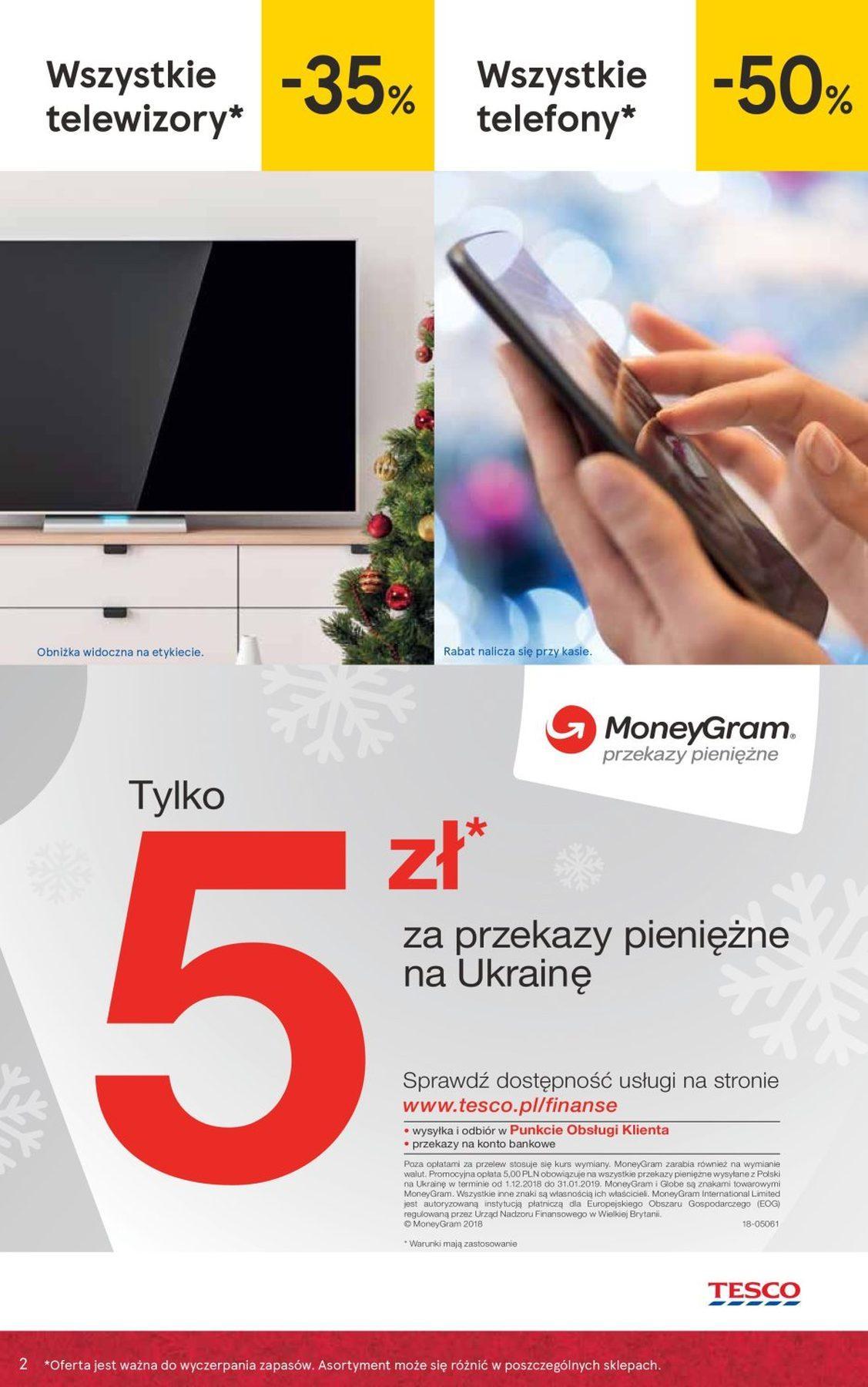 Gazetka promocyjna Tesco do 27/12/2018 str.2