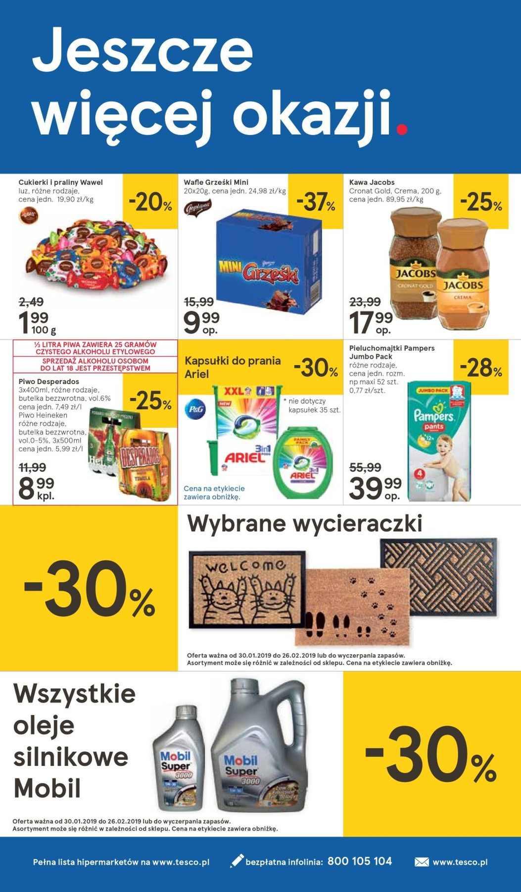 Gazetka promocyjna Tesco do 06/02/2019 str.31