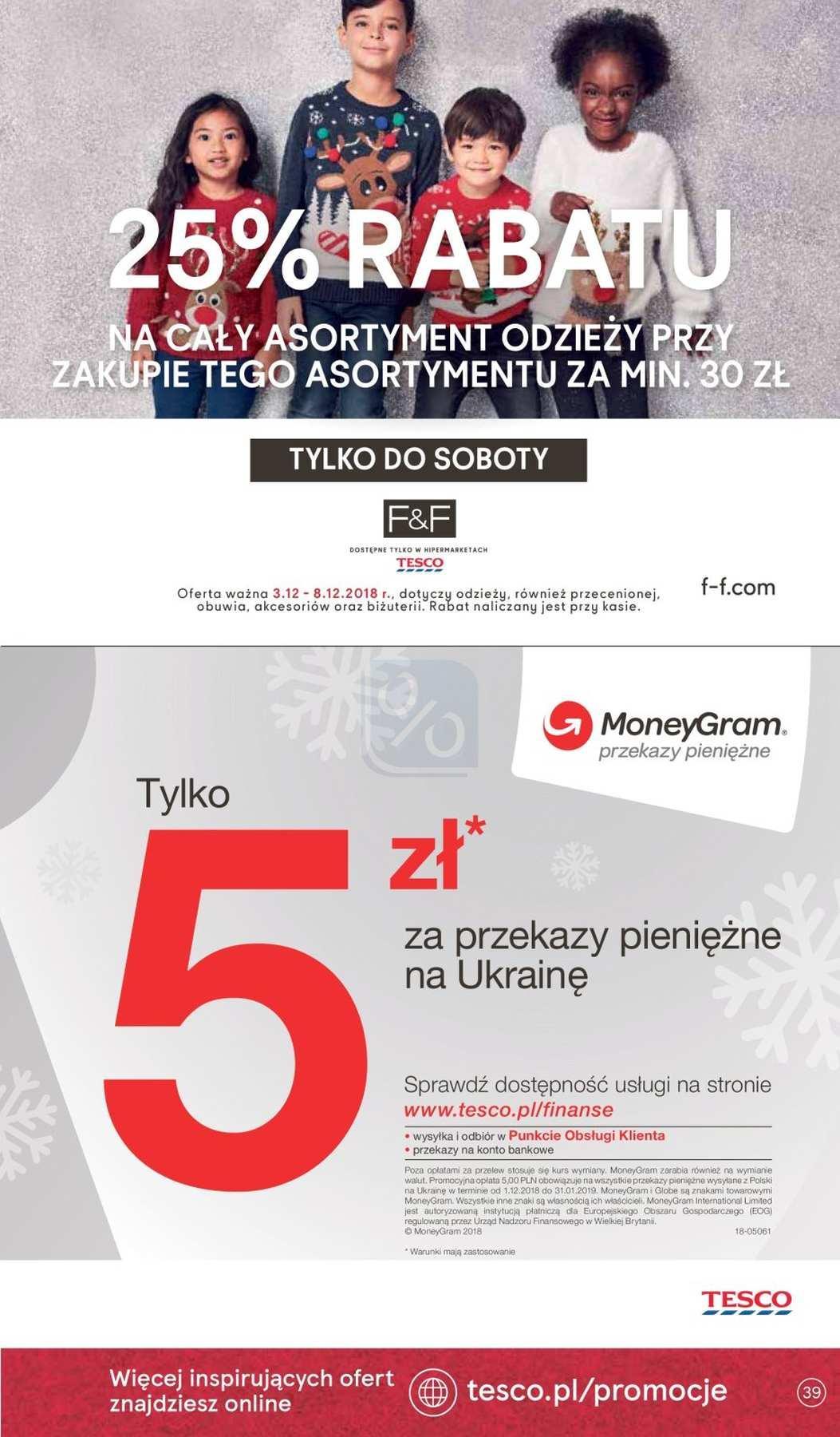 Gazetka promocyjna Tesco do 12/12/2018 str.39