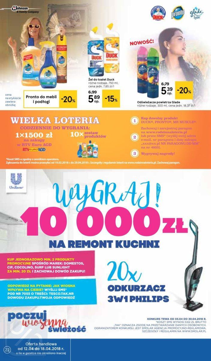 Gazetka promocyjna Tesco do 18/04/2018 str.21