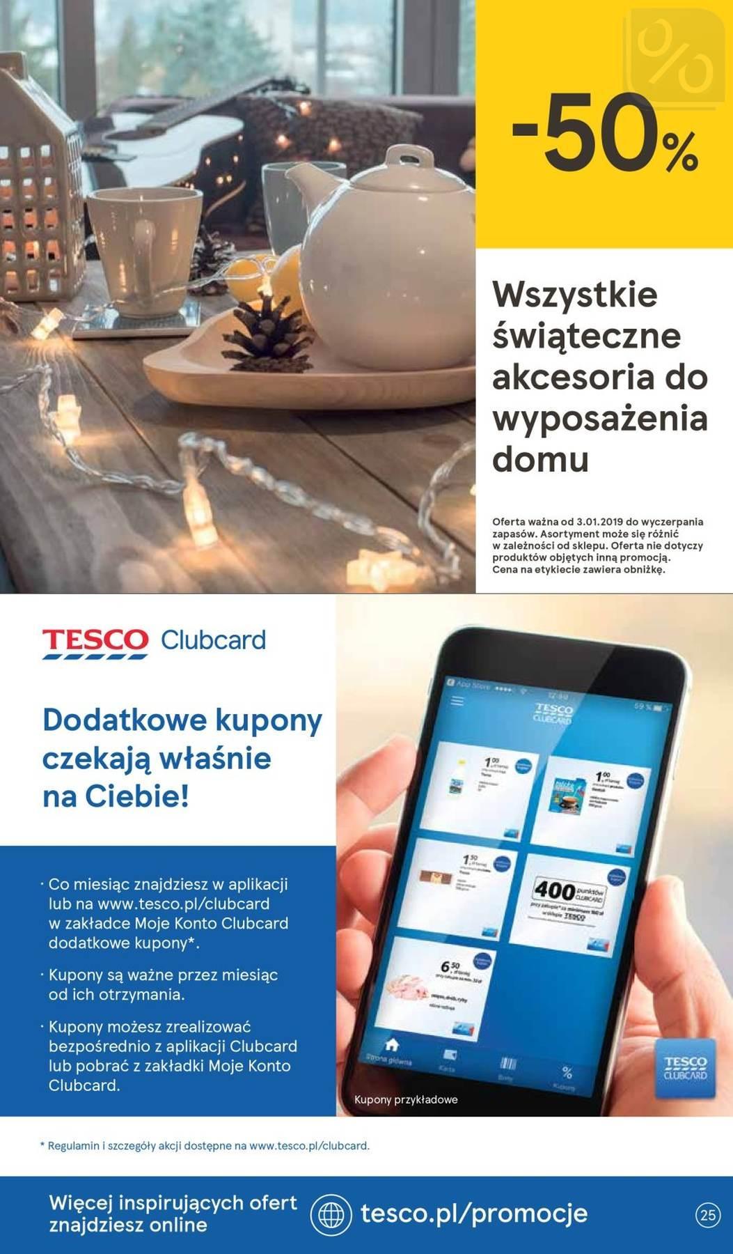 Gazetka promocyjna Tesco do 16/01/2019 str.24