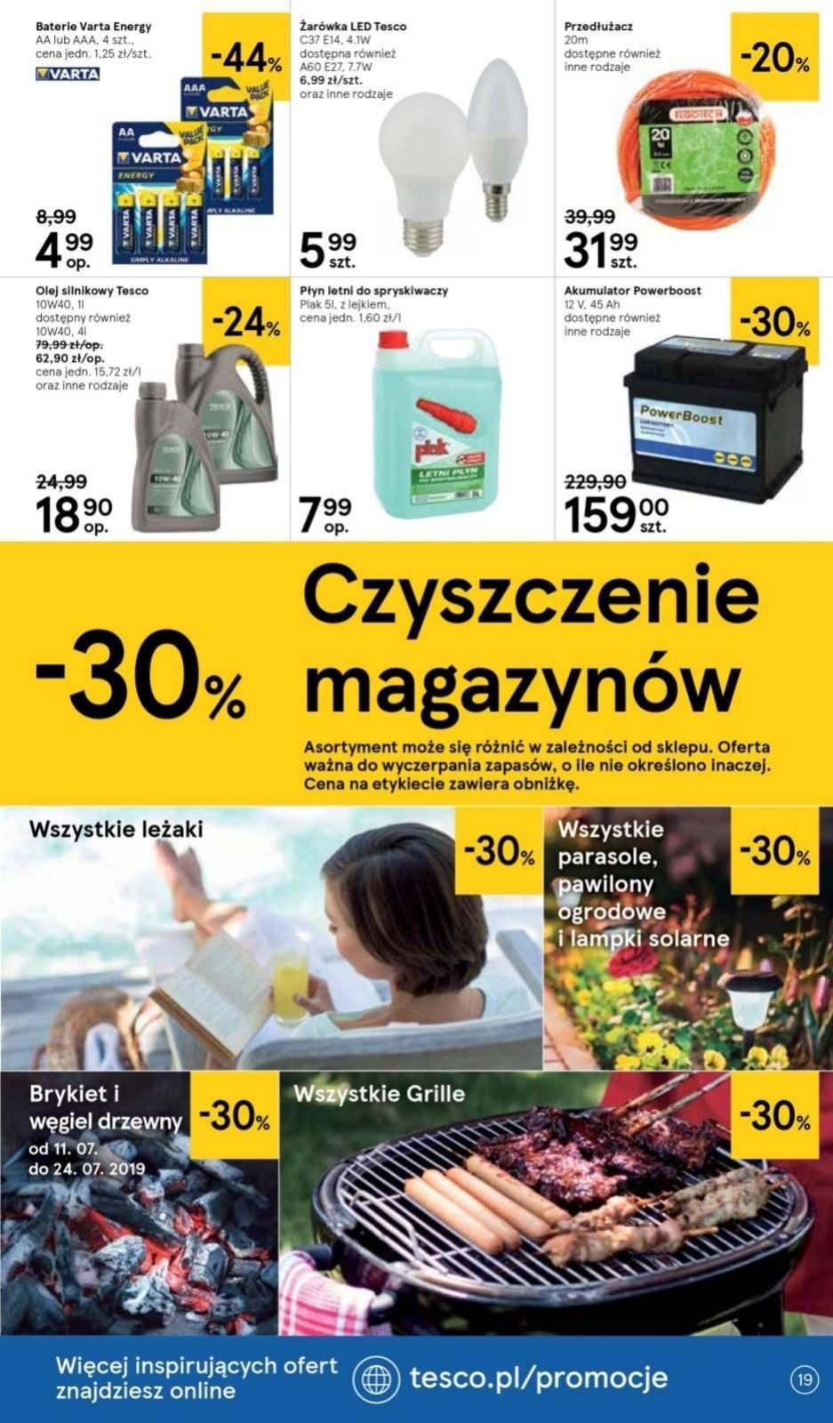 Gazetka promocyjna Tesco do 24/07/2019 str.18