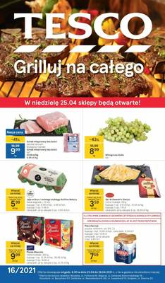 Tesco gazetka - od 22/04/2021 do 28/04/2021