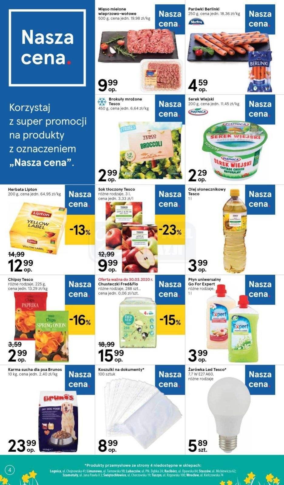 Gazetka promocyjna Tesco do 01/04/2020 str.4