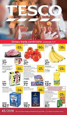 Tesco gazetka - od 08/11/2018 do 14/11/2018