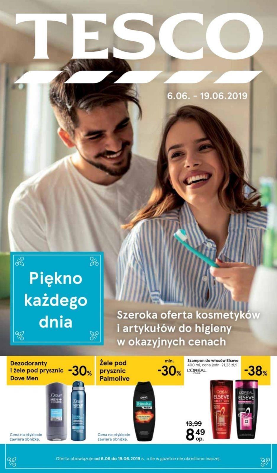 Gazetka promocyjna Tesco do 19/06/2019 str.1