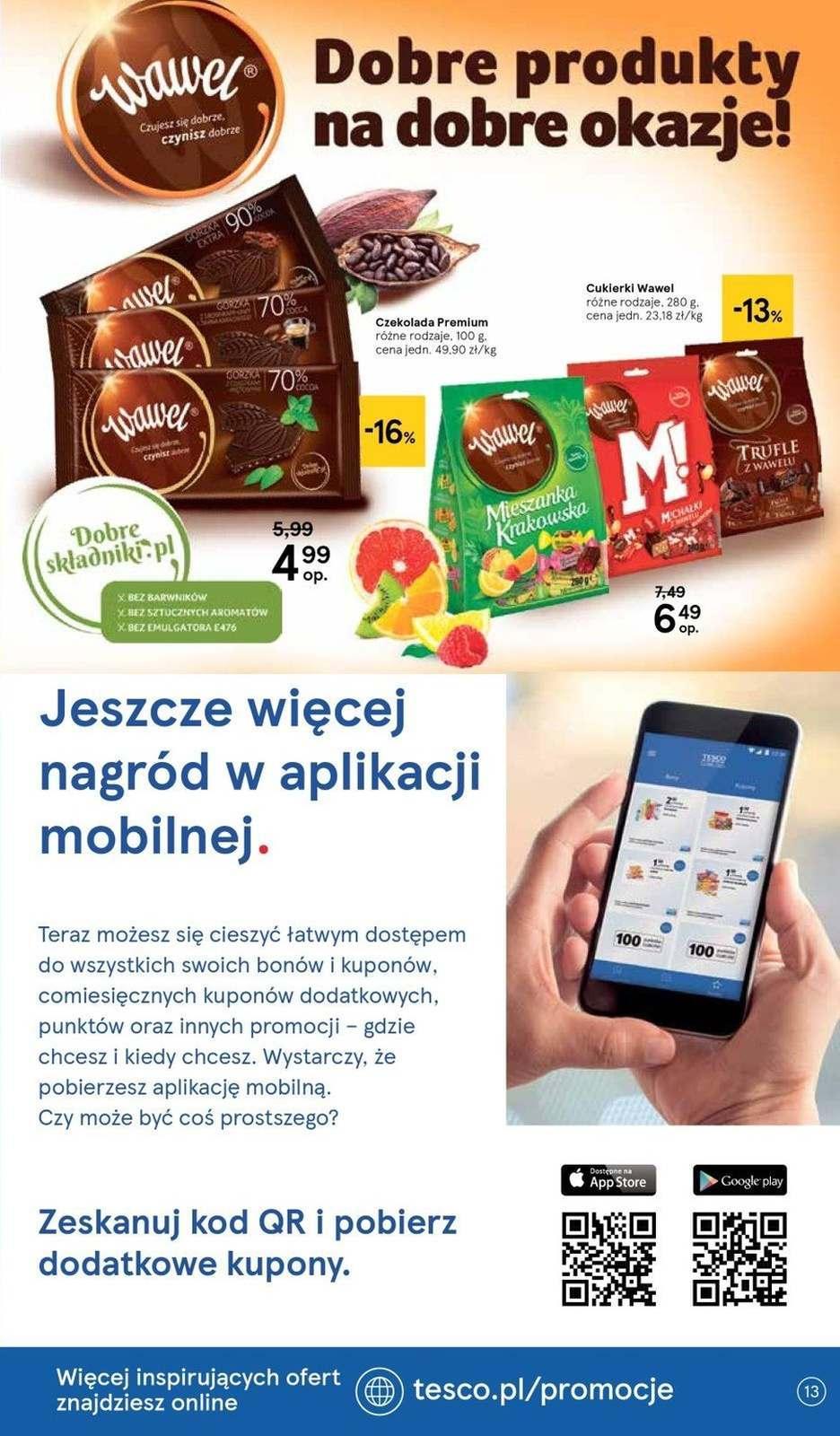 Gazetka promocyjna Tesco do 21/08/2019 str.13