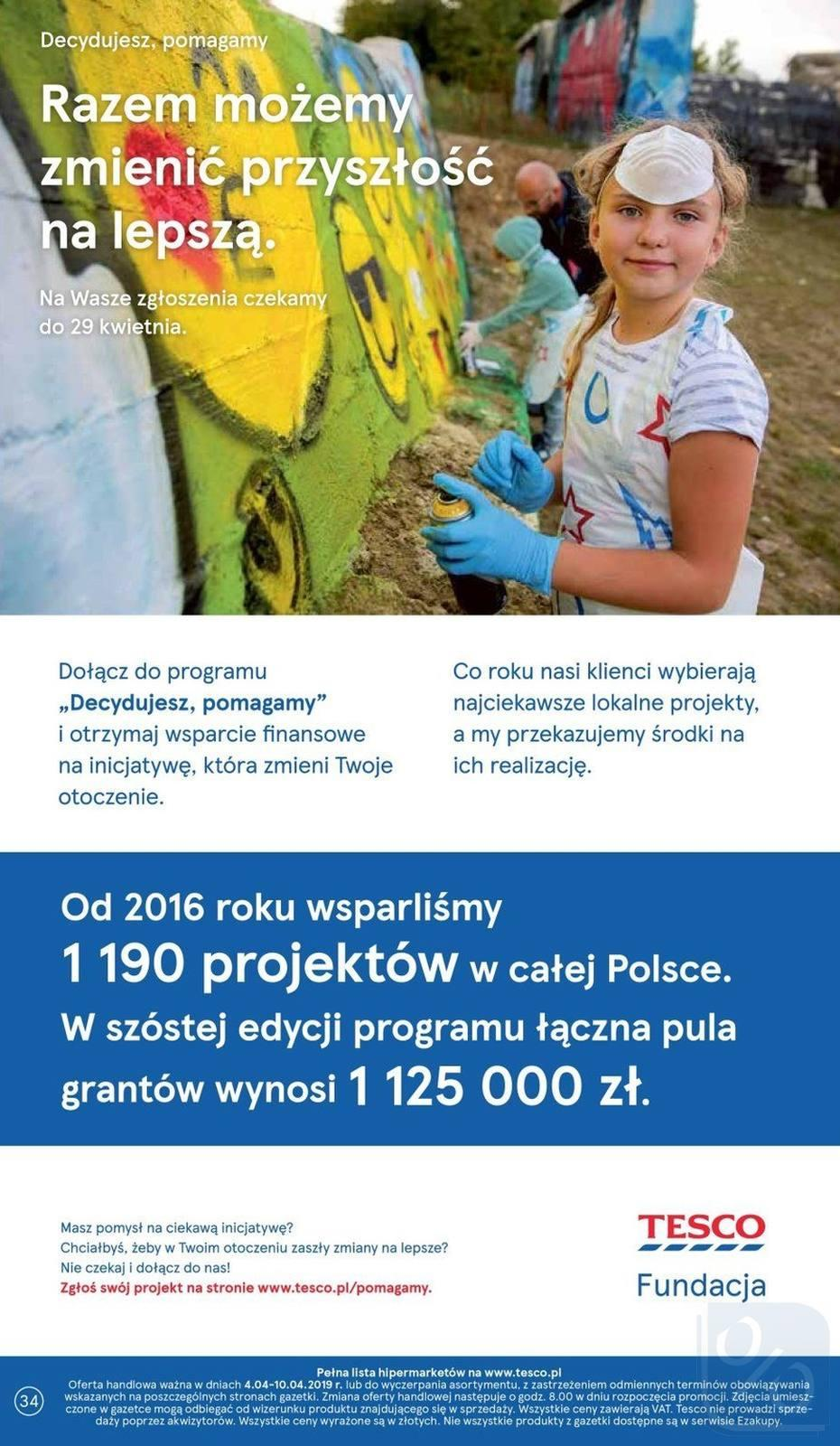 Gazetka promocyjna Tesco do 10/04/2019 str.33