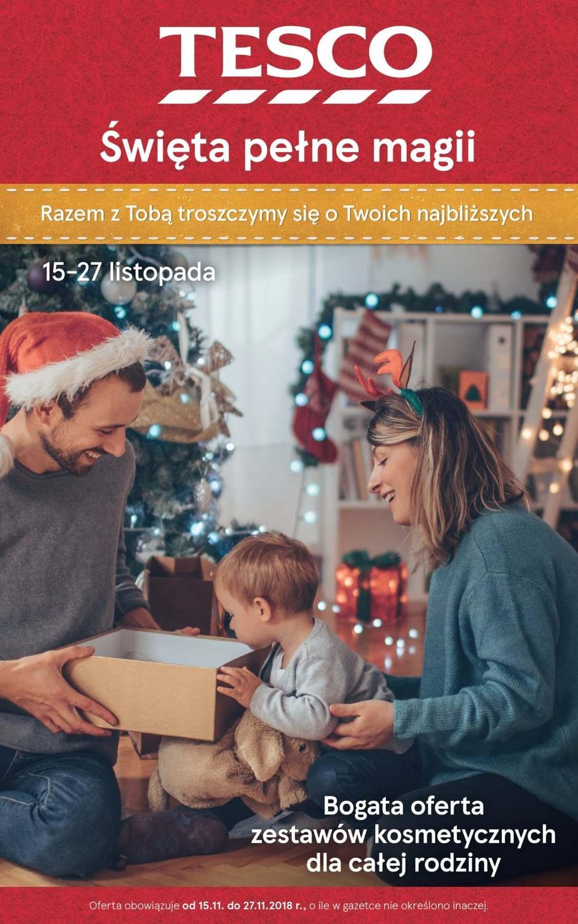 Gazetka promocyjna Tesco do 27/11/2018 str.1