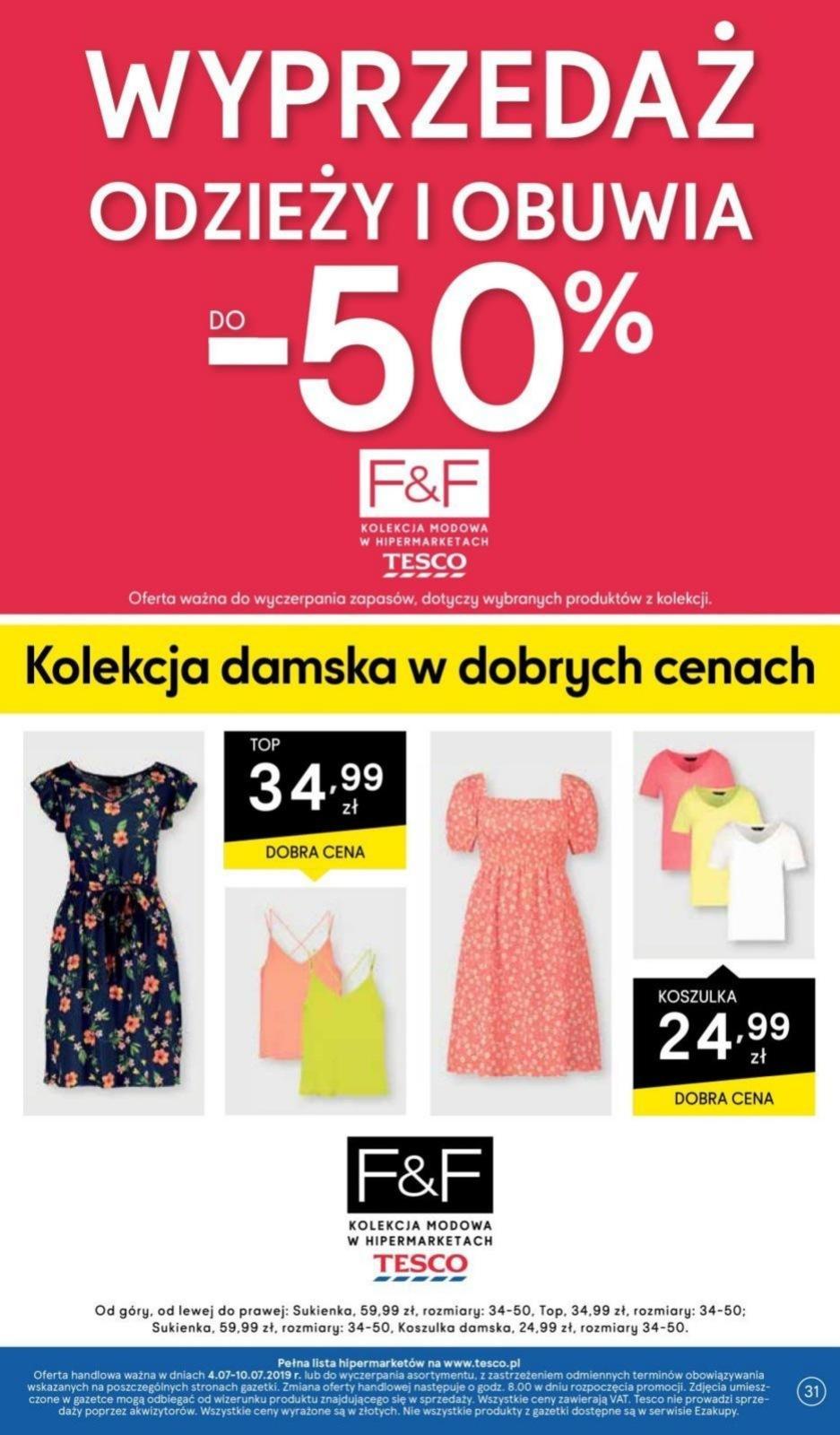 Gazetka promocyjna Tesco do 10/07/2019 str.31