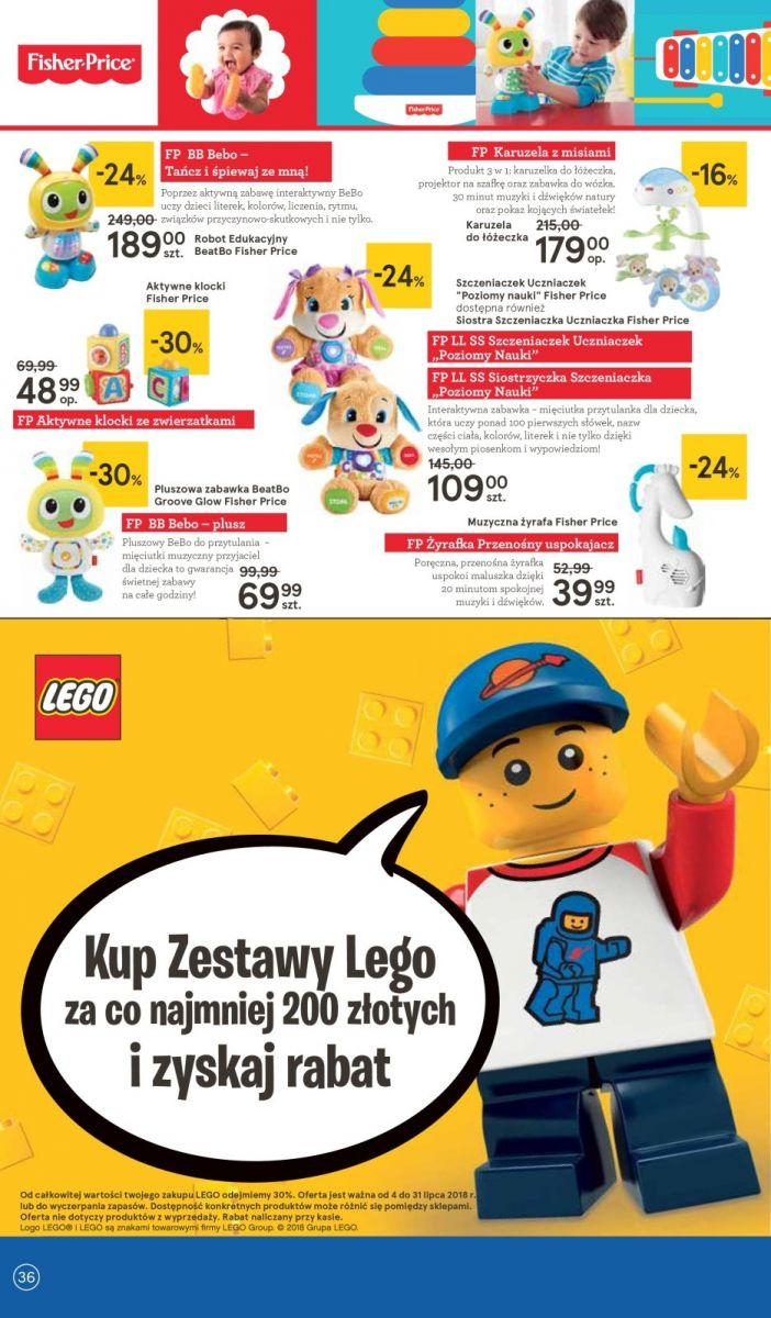 Gazetka promocyjna Tesco do 11/07/2018 str.36