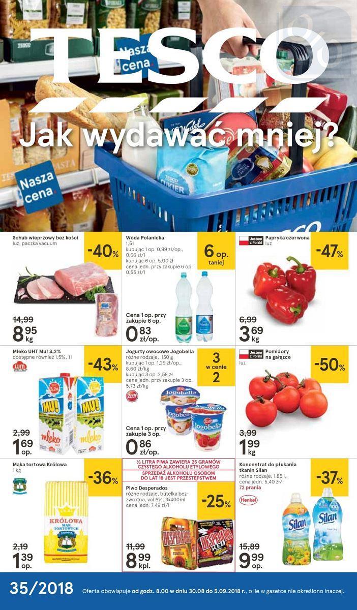 Gazetka promocyjna Tesco do 05/09/2018 str.0