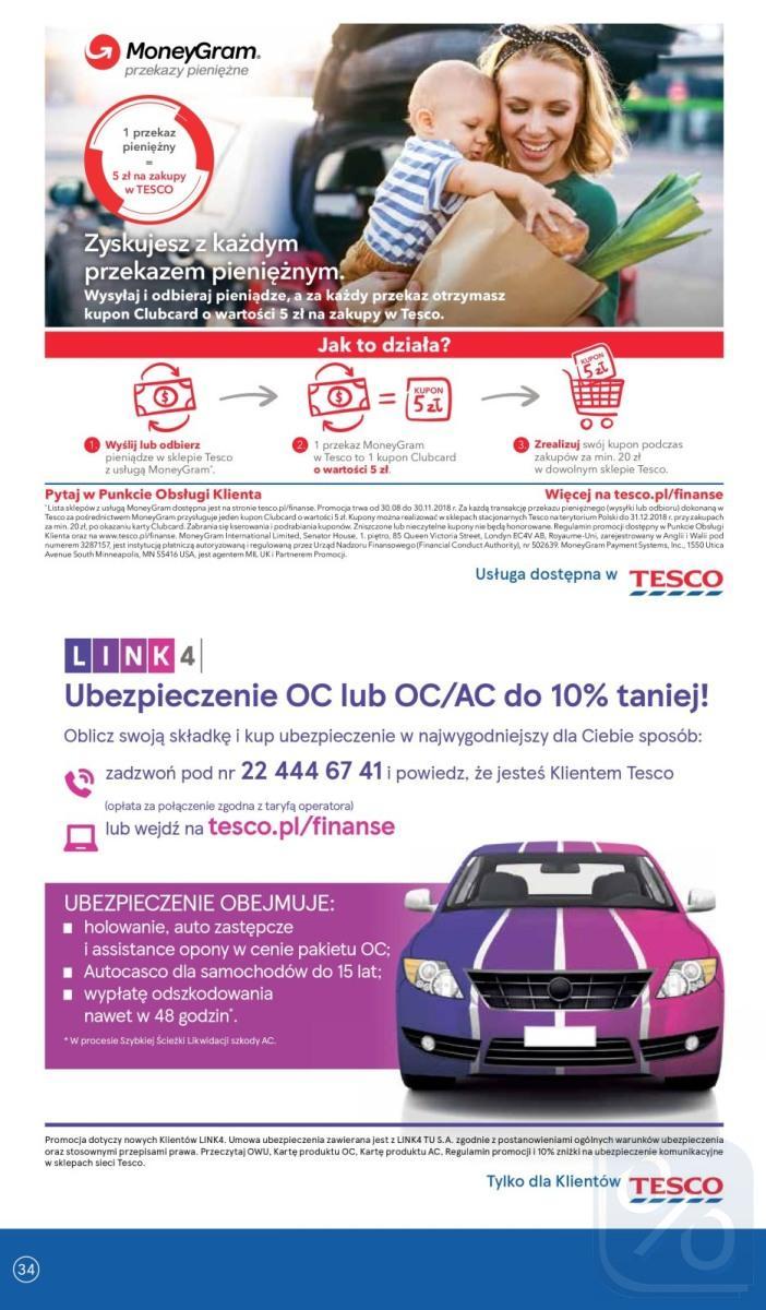 Gazetka promocyjna Tesco do 17/10/2018 str.34