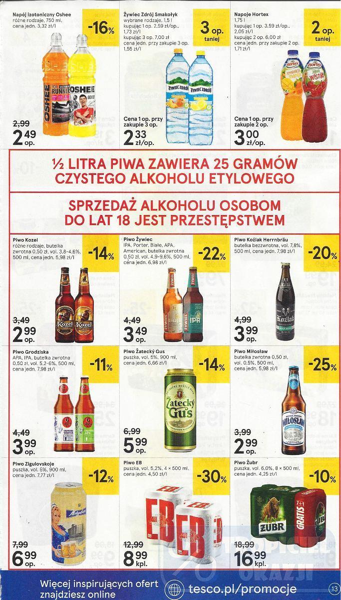 Gazetka promocyjna Tesco do 17/10/2018 str.13
