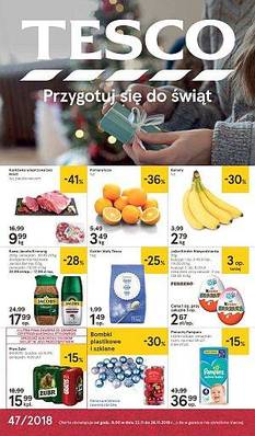 Tesco gazetka  - od 22/11/2018 do 28/11/2018