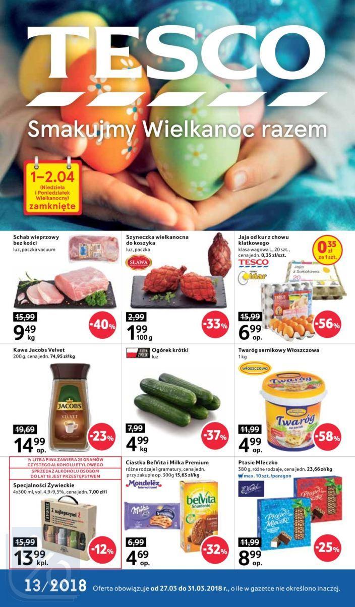 Gazetka promocyjna Tesco do 31/03/2018 str.0