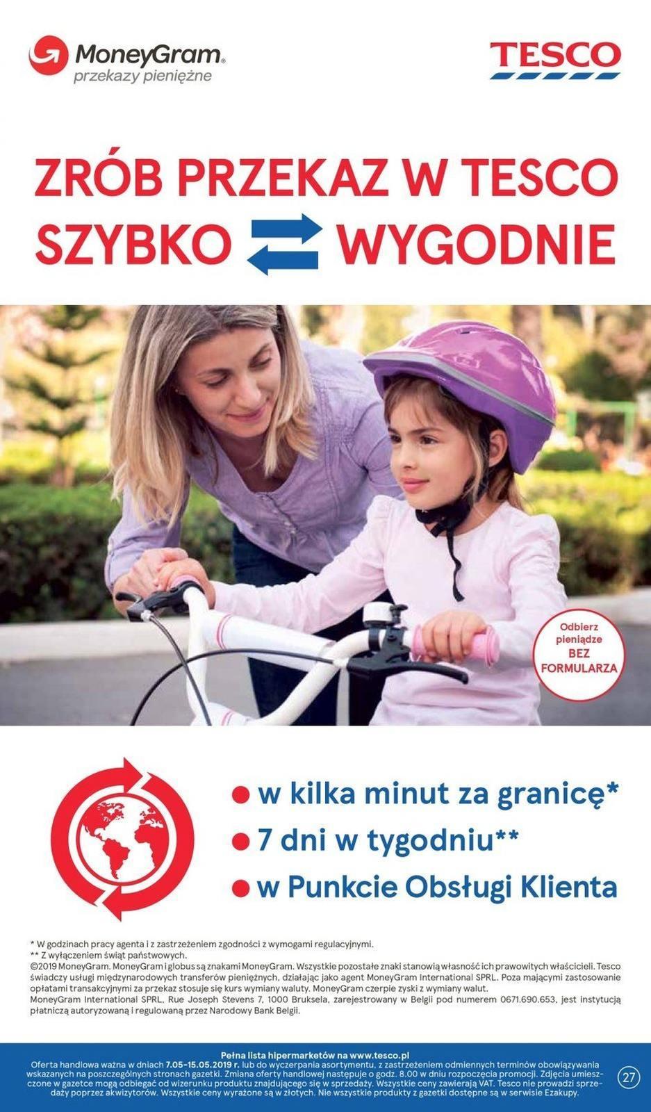 Gazetka promocyjna Tesco do 15/05/2019 str.26