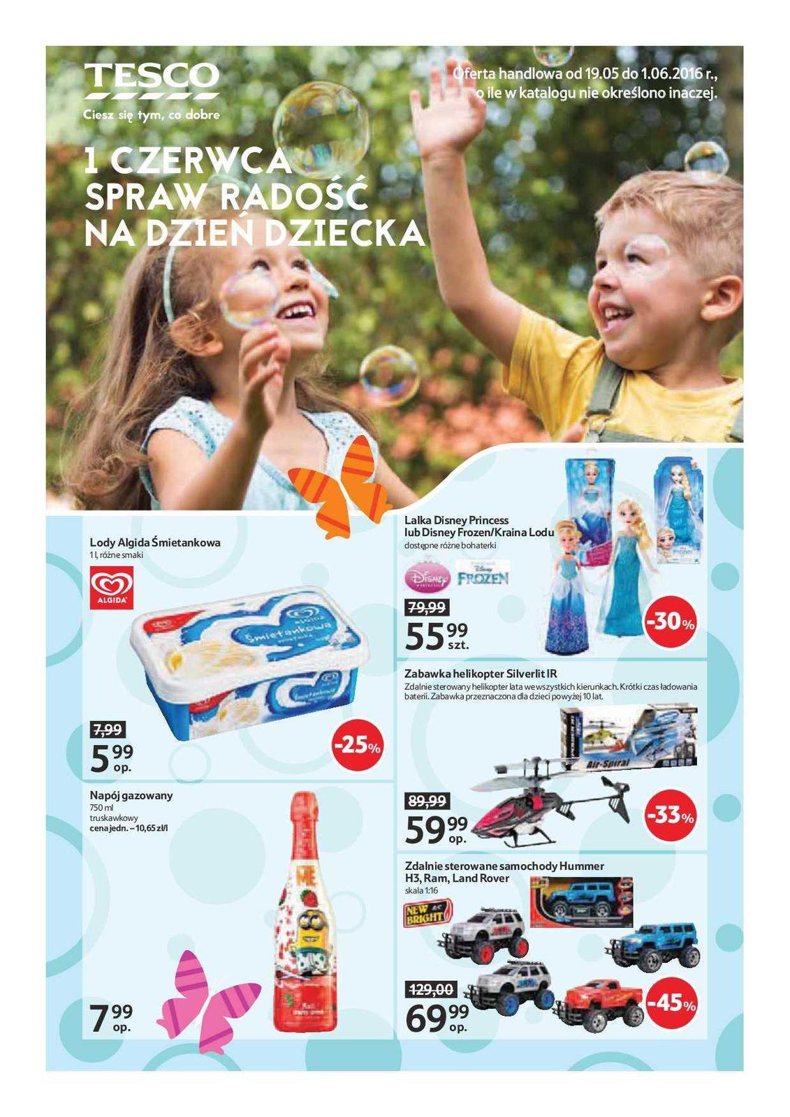 Gazetka promocyjna Tesco do 01/06/2016 str.0