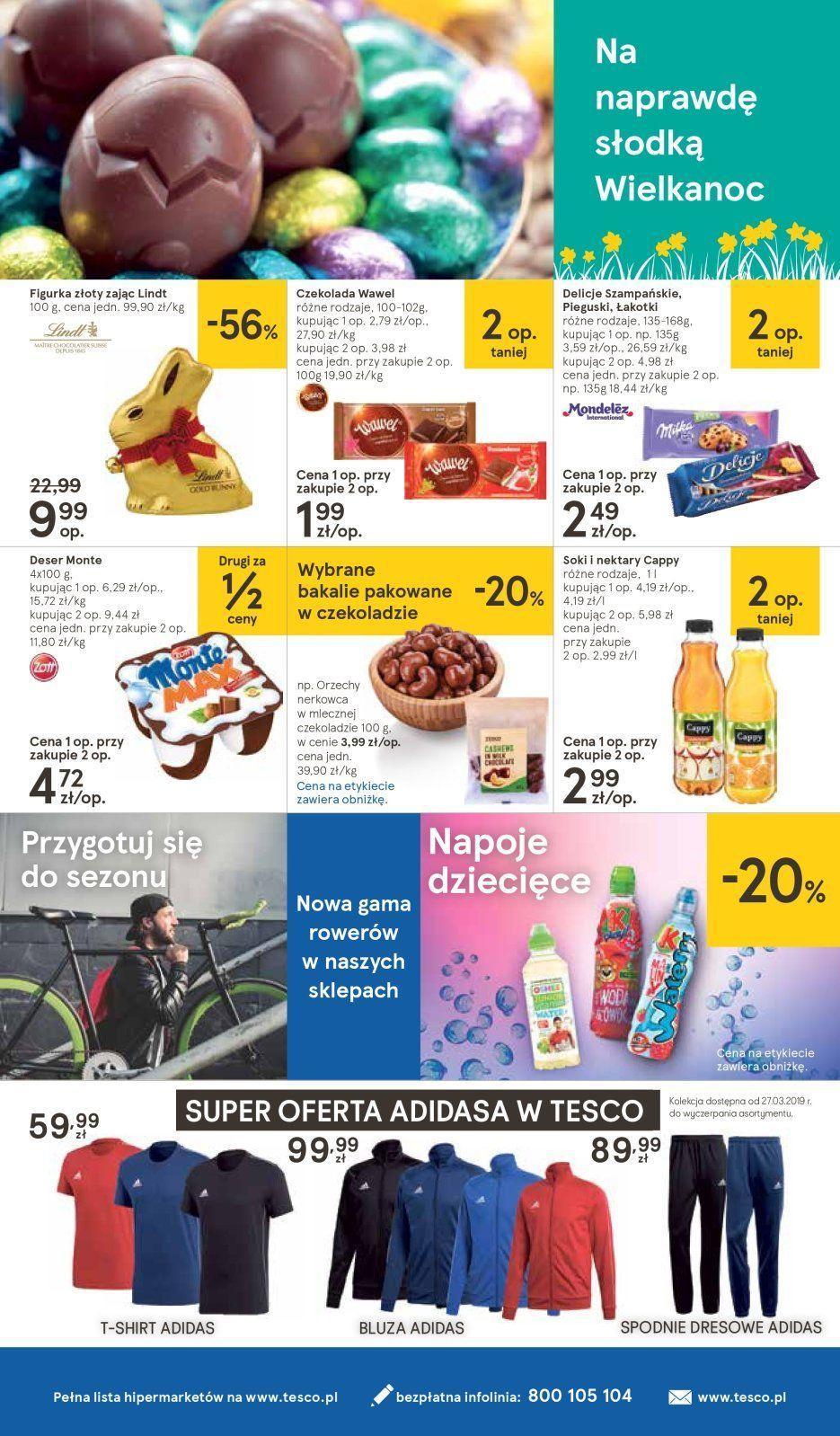 Gazetka promocyjna Tesco do 03/04/2019 str.23