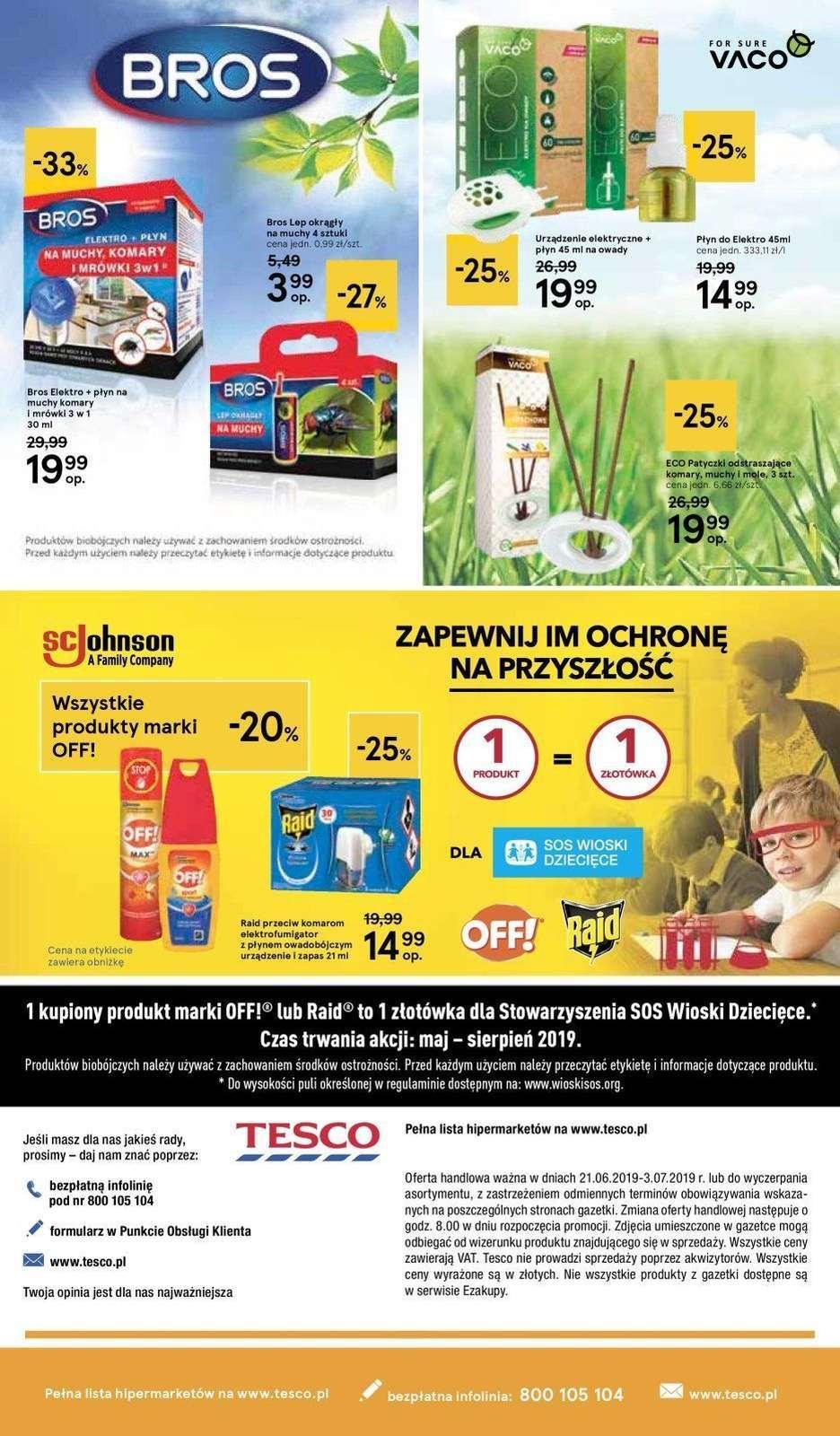Gazetka promocyjna Tesco do 03/07/2019 str.4