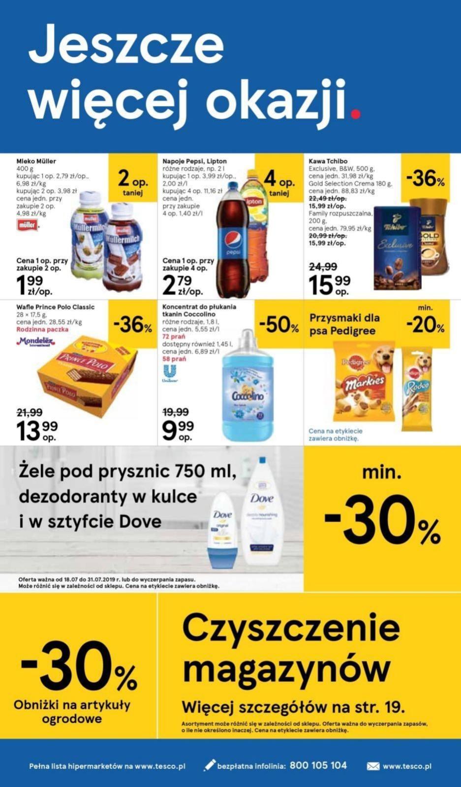 Gazetka promocyjna Tesco do 24/07/2019 str.19