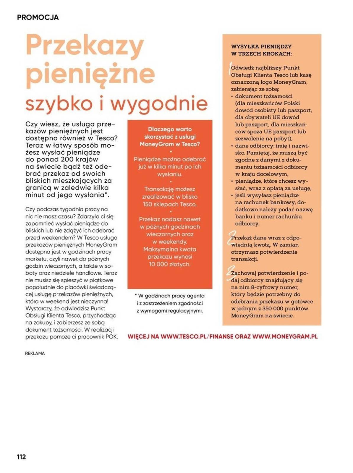 Gazetka promocyjna Tesco do 25/08/2019 str.111