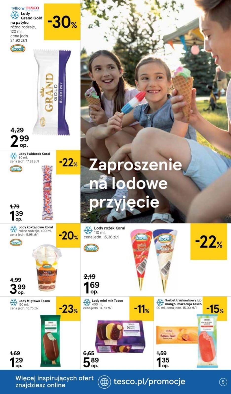 Gazetka promocyjna Tesco do 10/07/2019 str.4