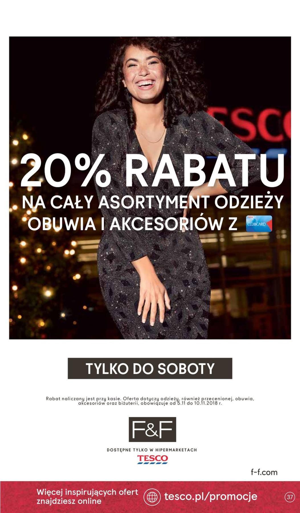 Gazetka promocyjna Tesco do 14/11/2018 str.37