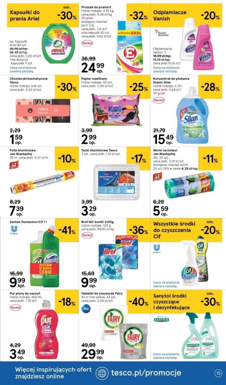 Gazetka promocyjna Tesco do 24/07/2019 str.14