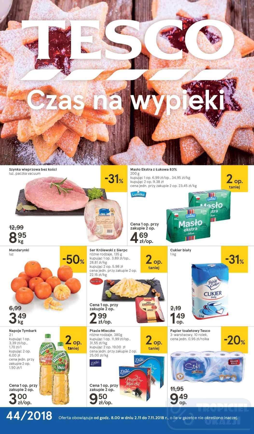Gazetka promocyjna Tesco do 07/11/2018 str.0