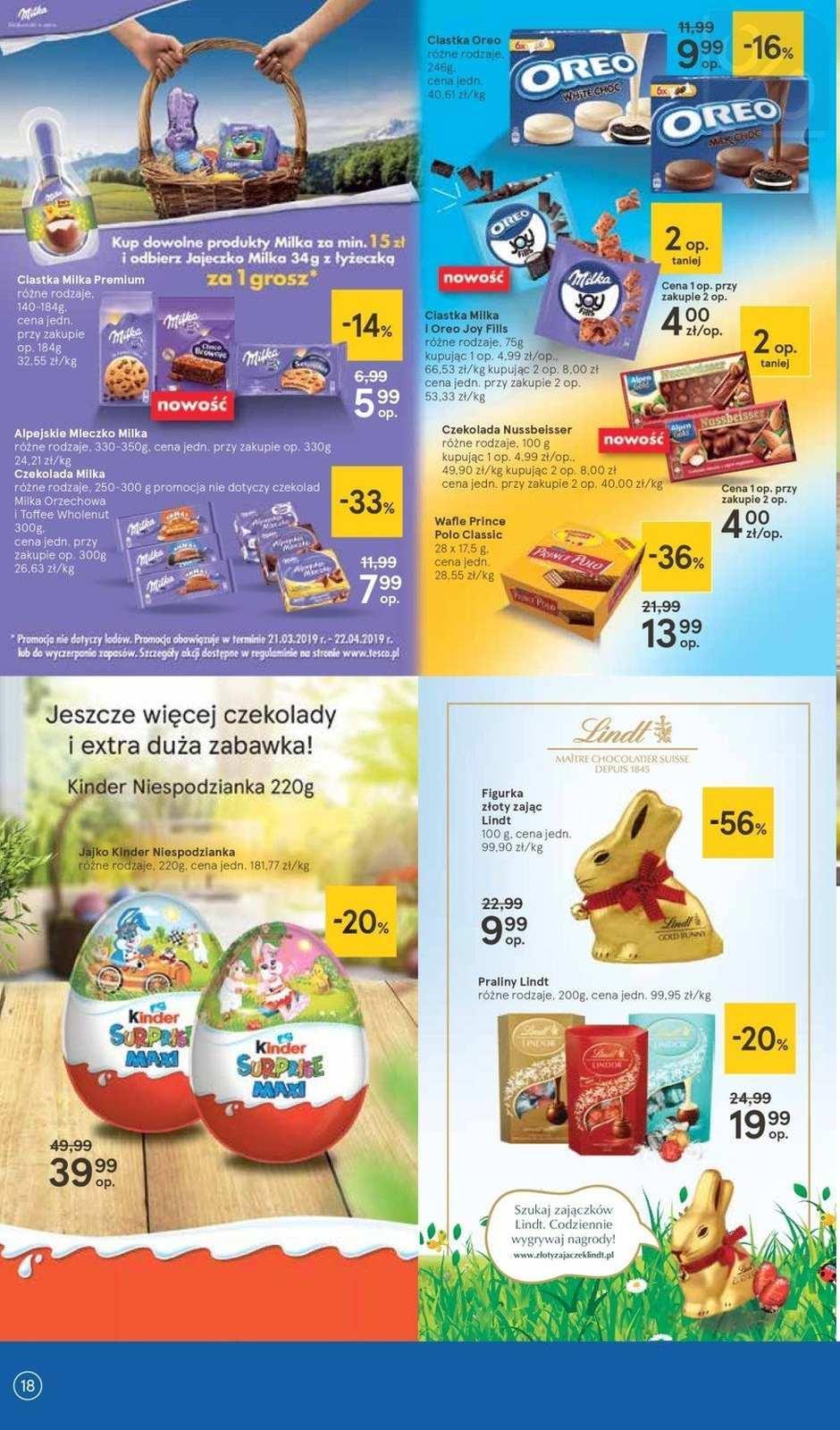 Gazetka promocyjna Tesco do 03/04/2019 str.17
