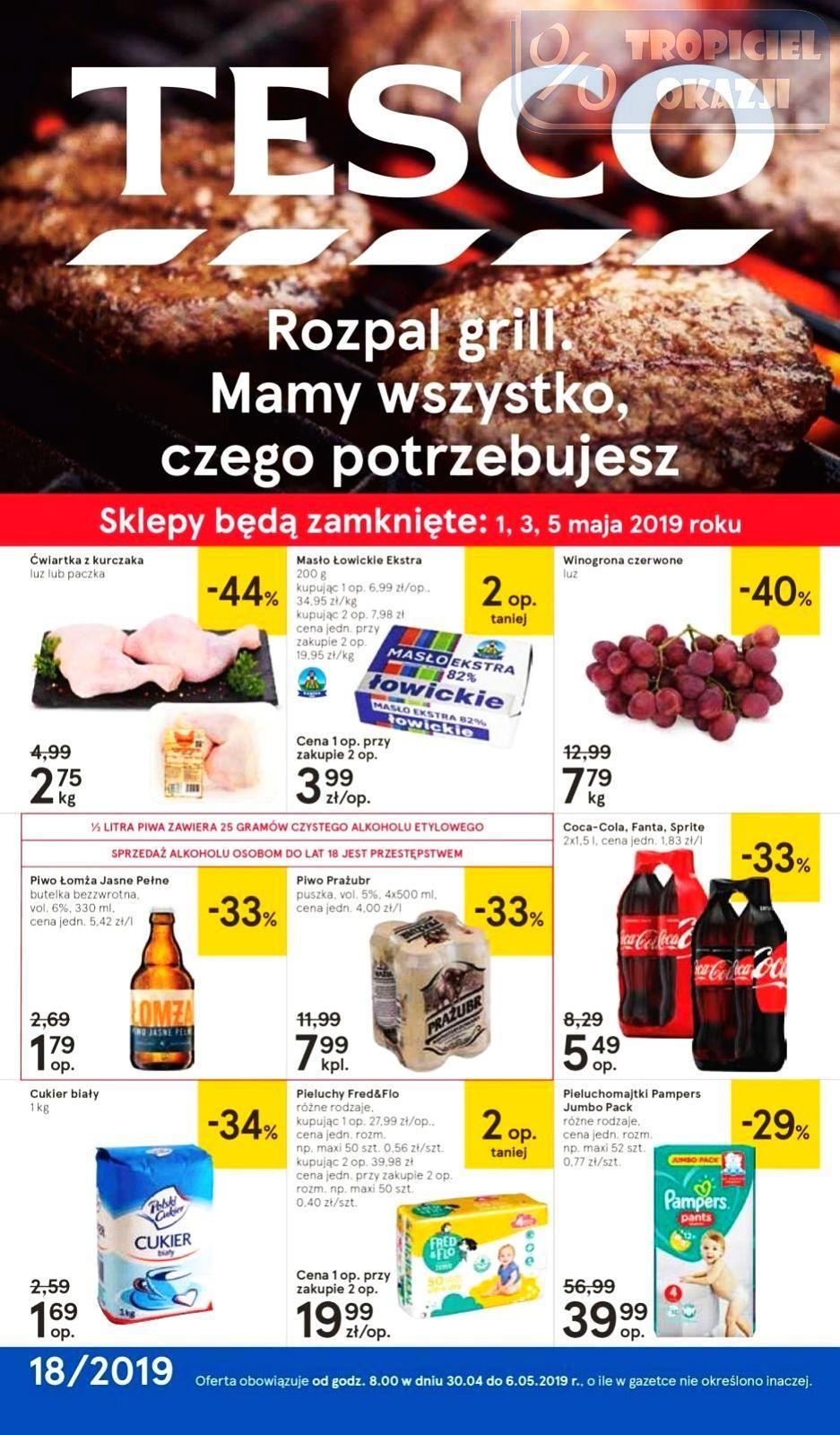 Gazetka promocyjna Tesco do 06/05/2019 str.0