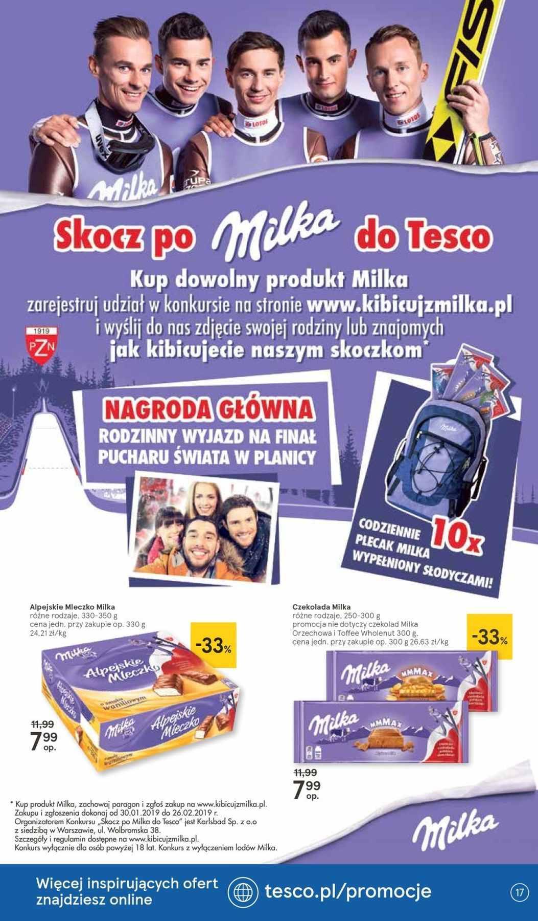 Gazetka promocyjna Tesco do 06/02/2019 str.16