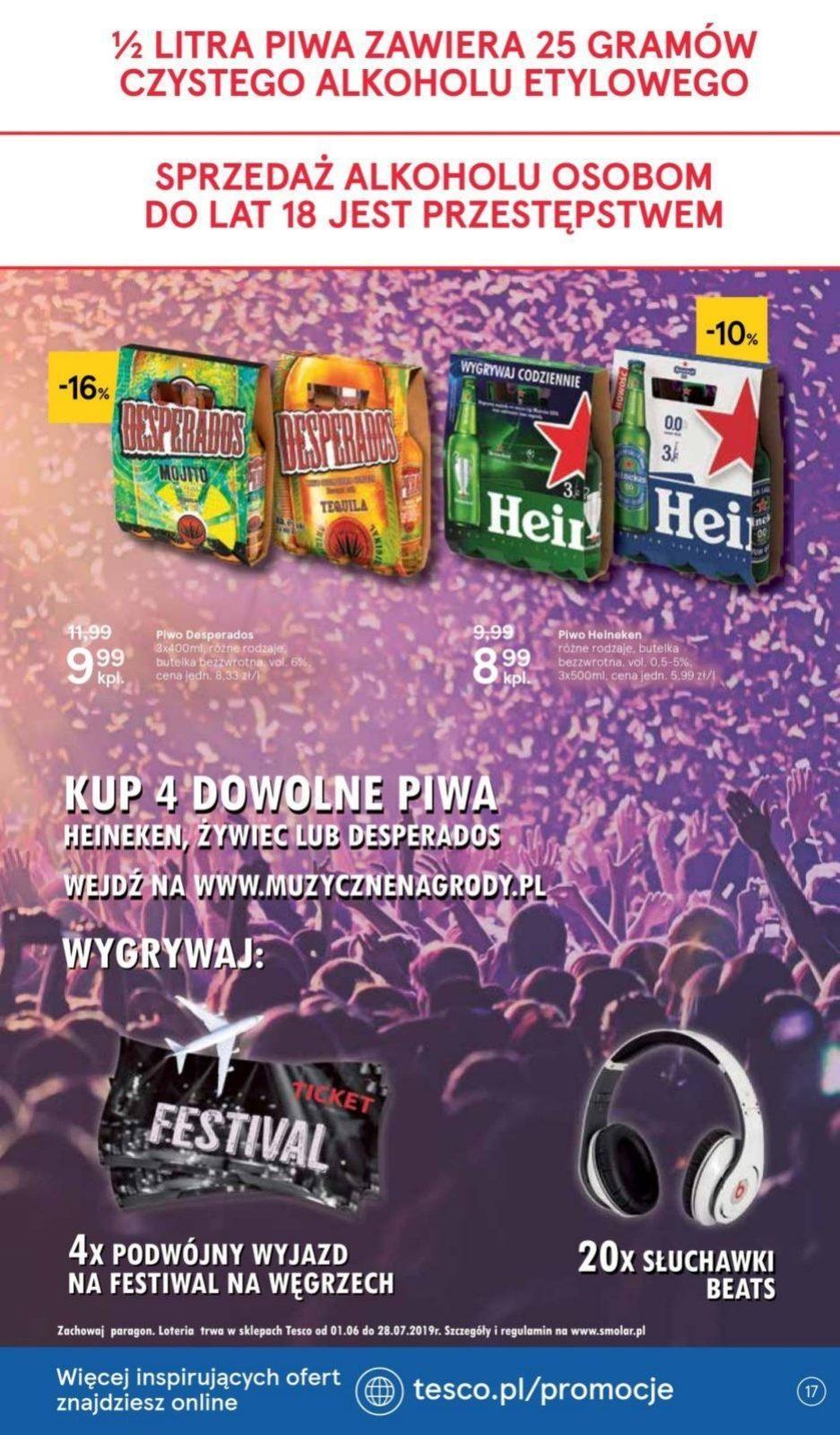 Gazetka promocyjna Tesco do 10/07/2019 str.17
