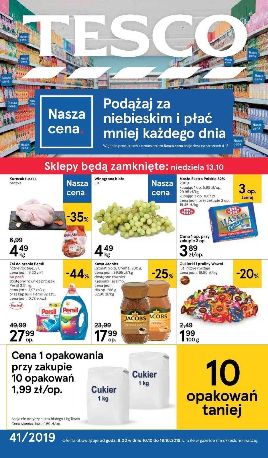 Gazetka promocyjna Tesco do 16/10/2019 str.0