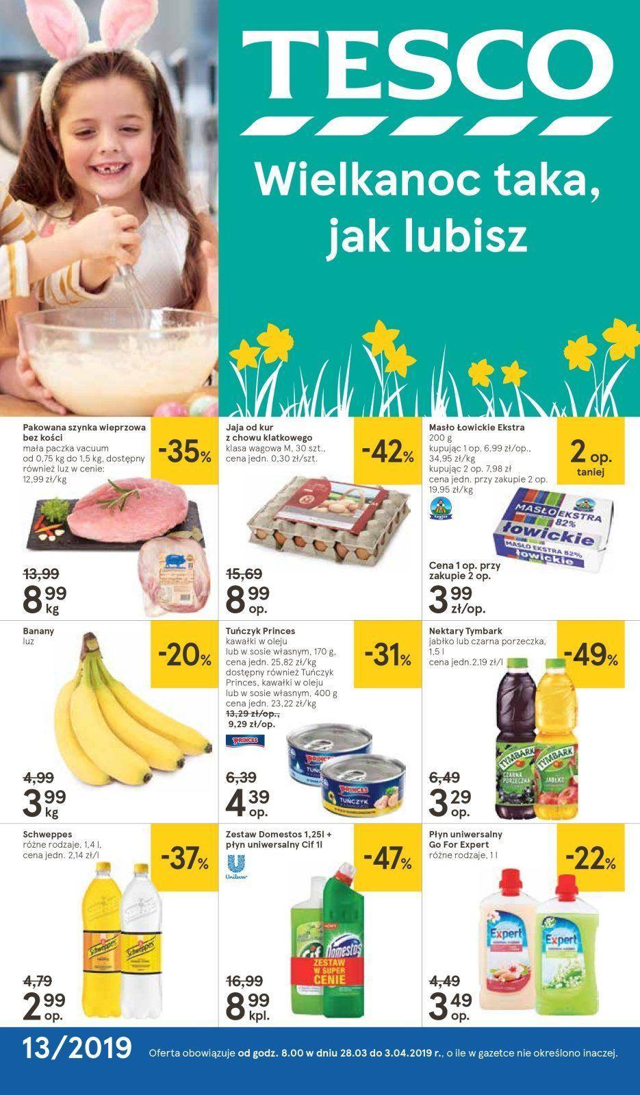 Gazetka promocyjna Tesco do 03/04/2019 str.1