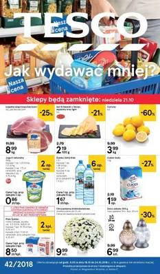 Tesco gazetka  - od 18/10/2018 do 24/10/2018
