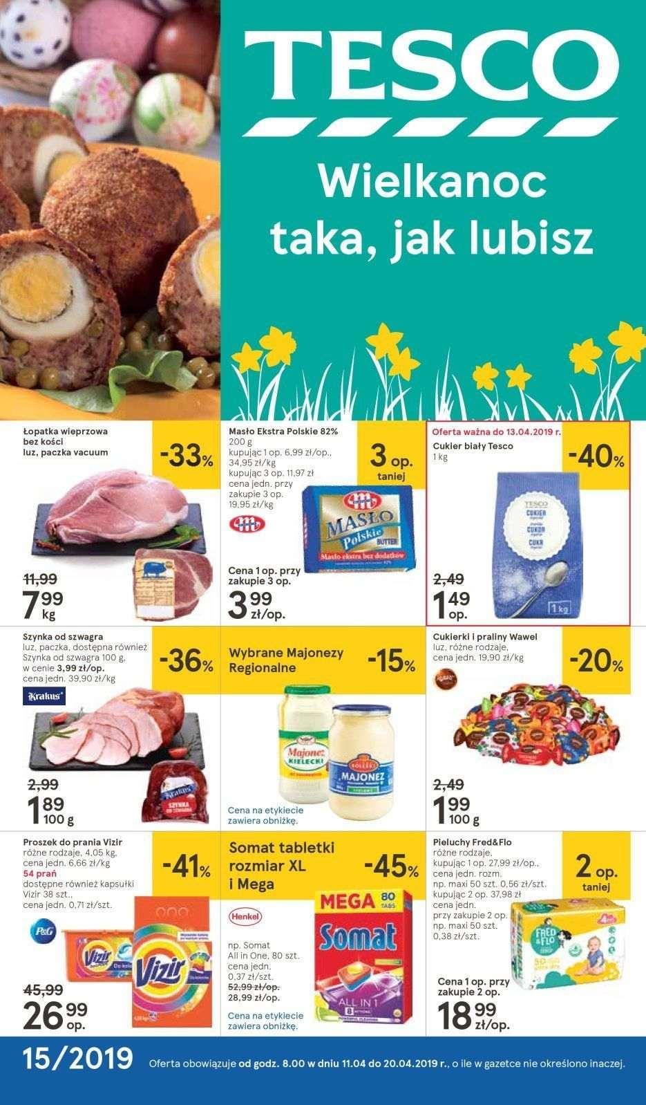 Gazetka promocyjna Tesco do 20/04/2019 str.0