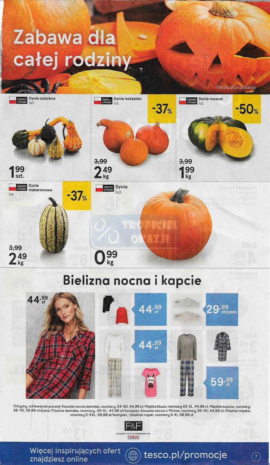 Gazetka promocyjna Tesco do 31/10/2018 str.7