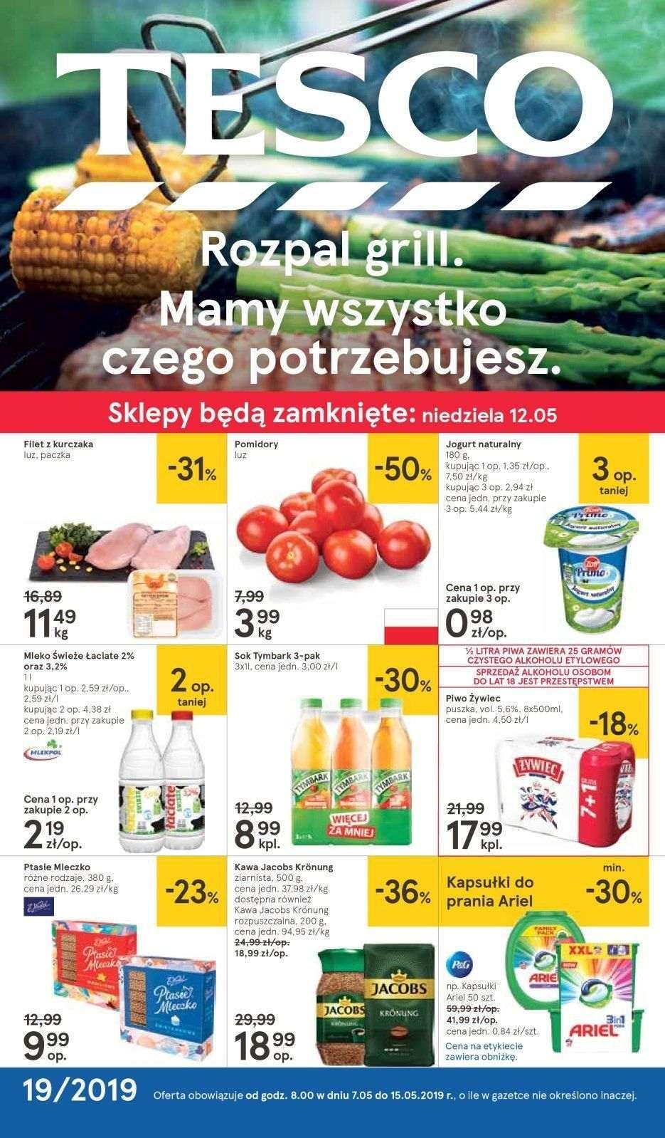 Gazetka promocyjna Tesco do 15/05/2019 str.1