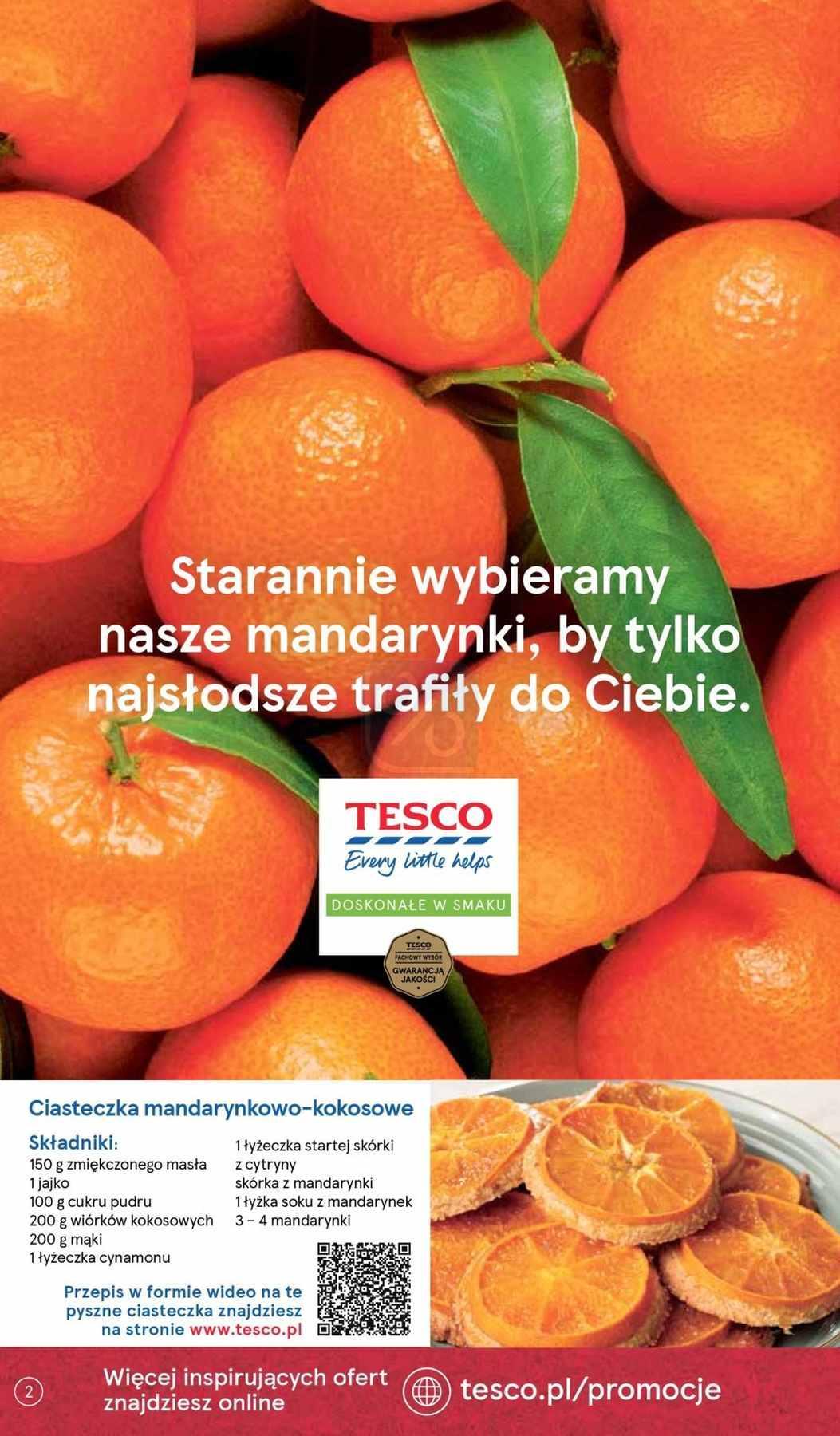 Gazetka promocyjna Tesco do 12/12/2018 str.2