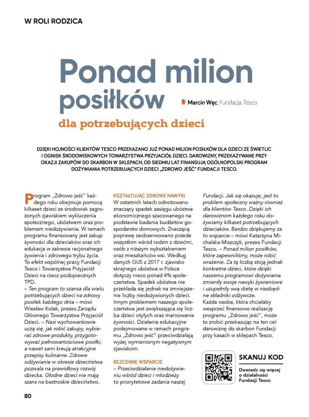 Gazetka promocyjna Tesco do 31/10/2019 str.80