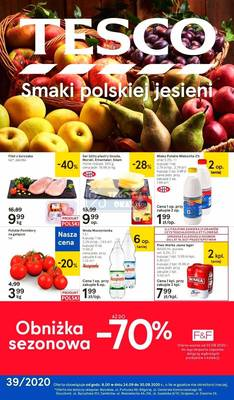 Tesco gazetka - od 24/09/2020 do 30/09/2020